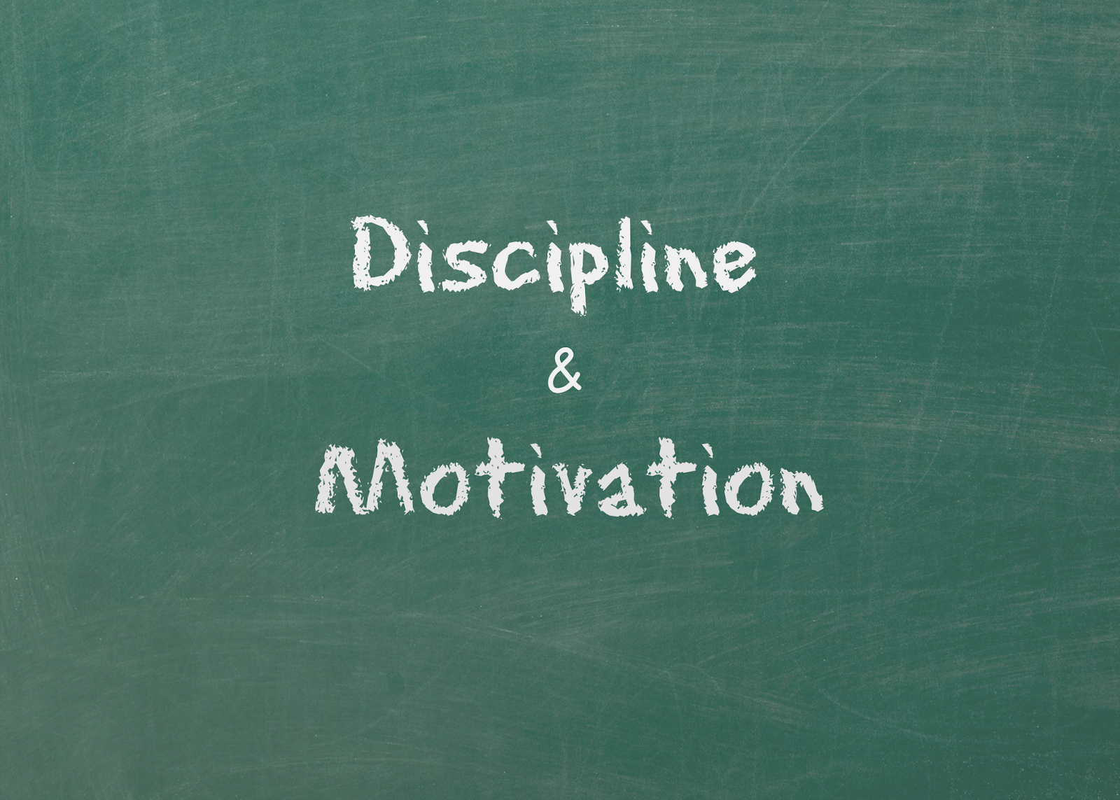 motivation and discipline This is a series of 3 articles looking at self discipline, willpower and motivation self discipline – taming the lazy monkey every morning i have a freezing cold shower, why because part of my mind says 'don't do it, it's just stupid' and that same part of my mind give's lots of different reasons not to do it each morning i fight that inner voice and discipline.