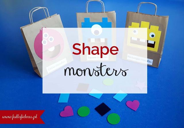 Shapes, printables, free, English, kids, angielski, dzieci, do druku, kształty, kolory, colours
