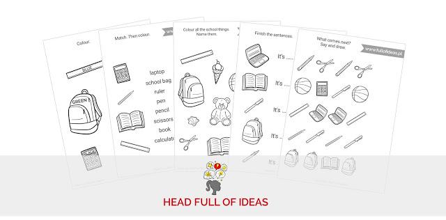 Do Druku 10 Kart Pracy Na Dobry Poczatek Head Full Of Ideas